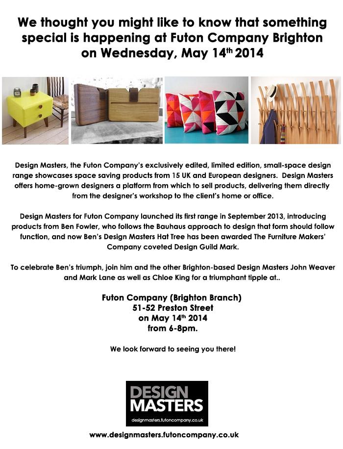 design masters invite