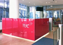TUC Reception Desk