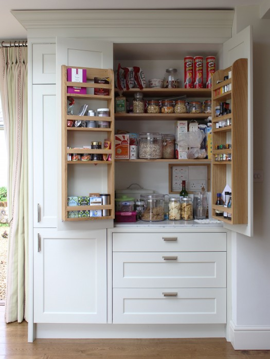open fridge larder