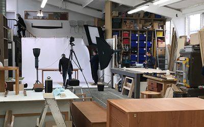 Workshop photo shoot.